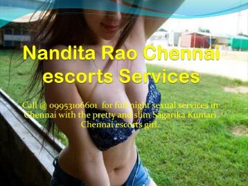 Nandita Rao Chennai escorts Services