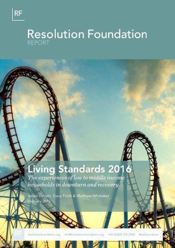 Living Standards 2016
