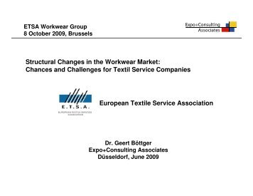 Structural Changes in the Workwear Market - EXPO + CONSULTING