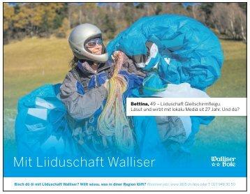 MIT LIIDUSCHAFT WALLISER - Walliser Bote 17.2.2016