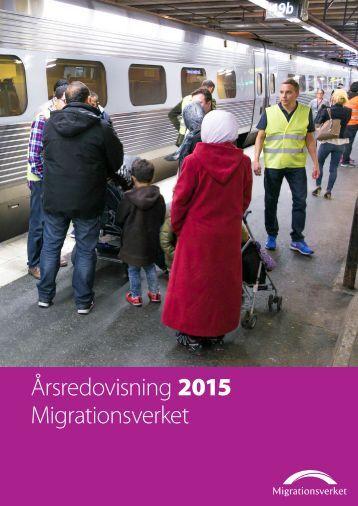 Årsredovisning 2015 Migrationsverket