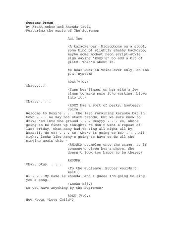 Supreme Dream By Frank Moher and Rhonda ... - singlelane.com