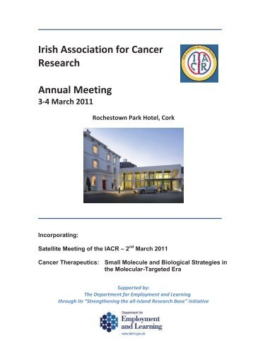 March 2011 - Irish Association for Cancer Research