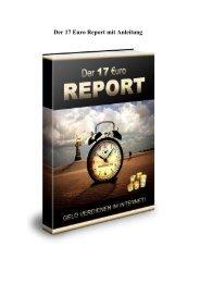 17-Euro-Report Geld verdienen im Internet