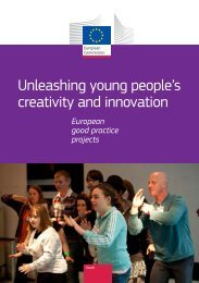 Unleashing young people's creativity and innovation