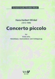 Concerto piccolo - Demopartitur (SK-016)