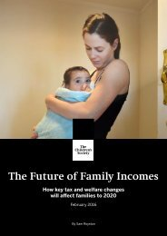 The Future of Family Incomes