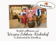 Wurzers Kürbishof - das wettersichere Top-Ausflugsziel für Gruppen im Herbst