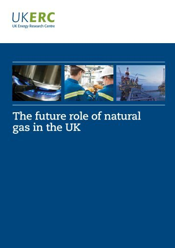 The future role of natural gas in the UK