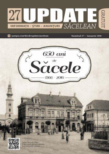 Update Sacelean Numarul 27
