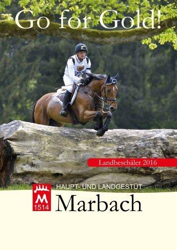 Marbacher Hengstkatalog 2016