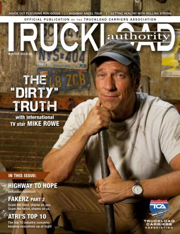 Truckload Authority - Winter 2015-16