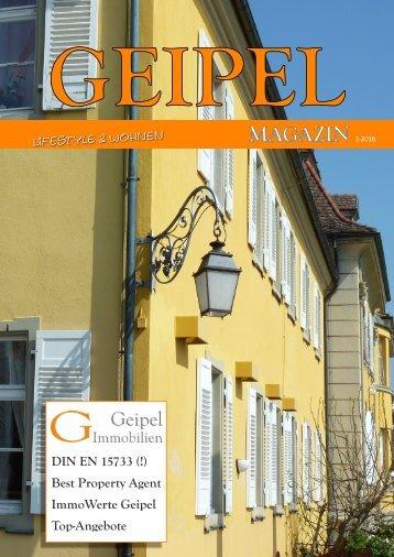 Geipel 01-2016 Immobilienmagazin
