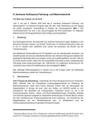 ATZ - Aachener Kolloquium