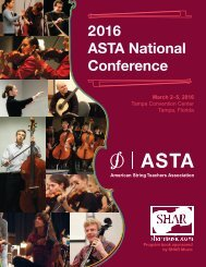 2016 ASTA National Conference
