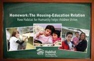 Homework:The Housing-Education Relation How Habitat for ...