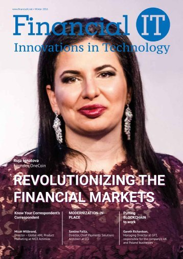Revolutionizing the Financial Markets