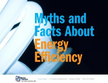 Myths and Facts About Energy Efficiency