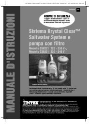 Sistema Krystal Clear™ Saltwater System e pompa con filtro - Intex
