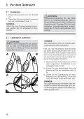 Dirt Devil Verso - Bedienungsanleitung Dirt Devil  Verso Nass/Trocken Handstaubsauger M410 - Page 6