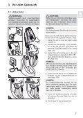 Dirt Devil Verso - Bedienungsanleitung Dirt Devil  Verso Nass/Trocken Handstaubsauger M410 - Page 7