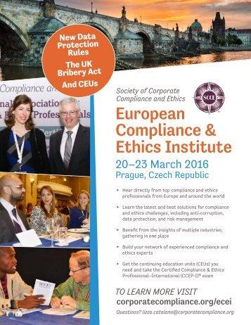 European Compliance & Ethics Institute