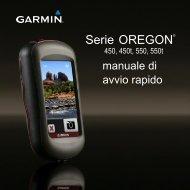 Garmin Oregon® 450 with TOPO Germany Light - manuale di avvio rapido