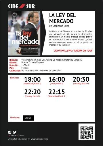 18:00 16:00 20:30 22:20 22:15