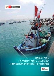 MANUAL PARA LA CONSTITUCIÓN Y MANEJO DE COOPERATIVAS PESQUERAS DE SERVICIOS