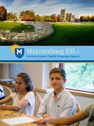 Mercersburg ESL+