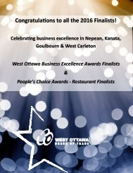 Congratulations to all the 2016 Finalists!