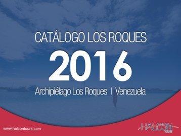 Halcón Tours - Los Roques Catálogo 2016