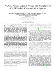 4G/LTE Mobile Communication Systems