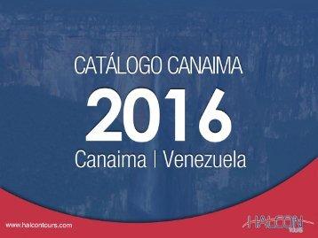 Halcon Tours - Canaima Catálogo 2016