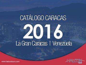 Halcon Tours - Caracas Catálogo 2016