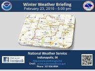 Winter Weather Briefing