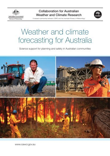 Weather and climate forecasting for Australia