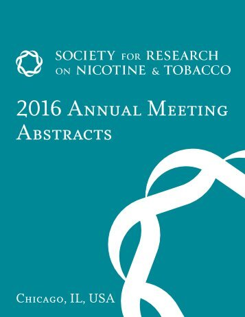 2016 Annual Meeting Abstracts