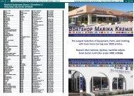 marine equipment & services / nautička oprema i servis