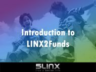 Introduction to LINX2Funds