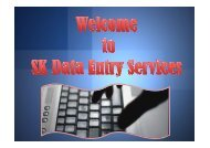 Best Online Data Entry Services