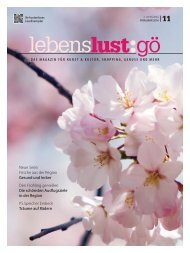 Lebenslust Gottingen - Ausgabe Fruhjahr 2016
