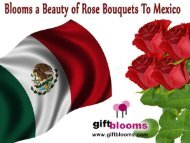 Blooms a Beauty of Rose Bouquets to Mexico