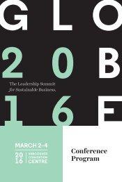 20 16 Conference Program