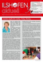 Angelika Seitz Coaching - Gewerbeverein Ilshofen eV / Startseite