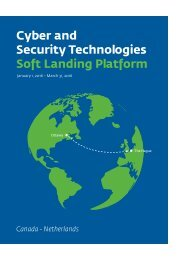 Cyber and Security Technologies Soft Landing Platform