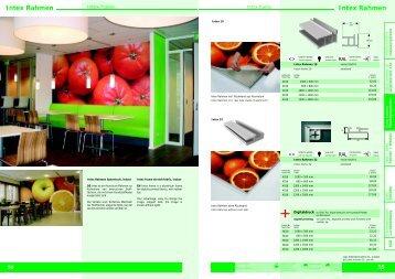 Intex Rahmen - IBR Werbetechnik