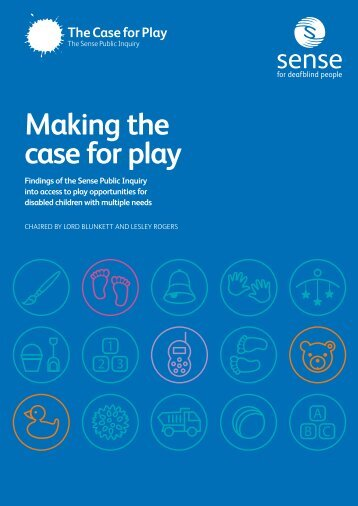Making the case for play