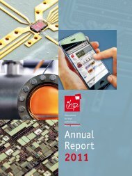 Annual Report 2011 - IHP Microelectronics