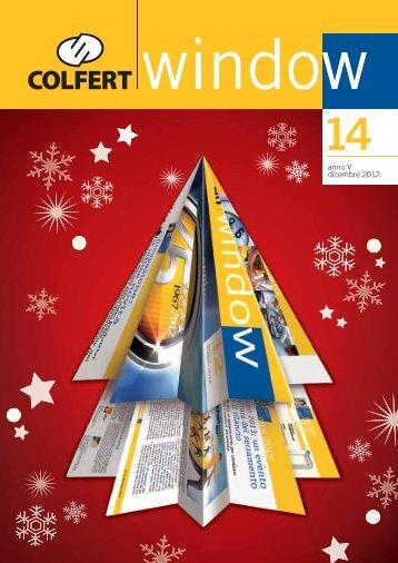 COLFERTwindow 14 - dicembre 2012